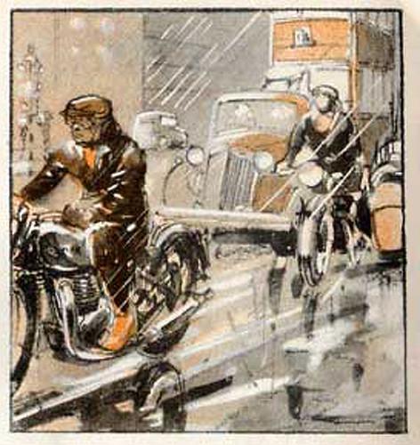 1935 Triumph Sketch by bullittmcqueen