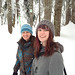Snowshoeing on Cypress Mountain