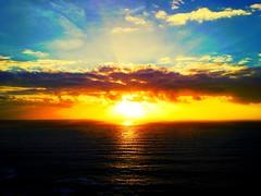Chapmans Peak sunset