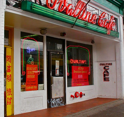 Ovaltine Cafe, Vancouver, B.C., Canada