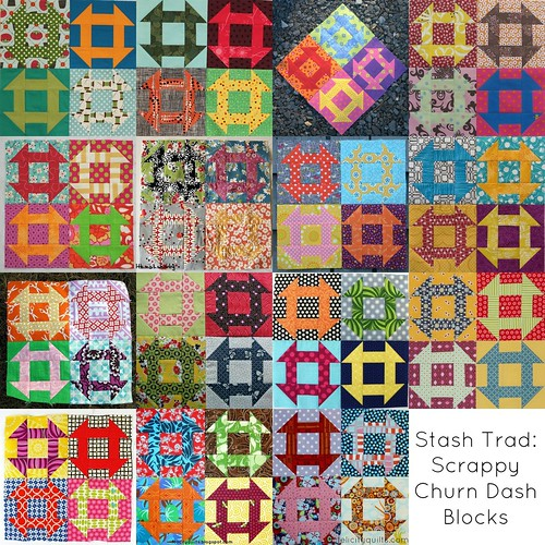 Scrappy Churn Dash mosaic