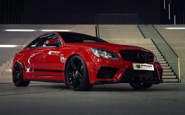 Mercedes-Benz Clase C Coupé PD Black Edition Widebody Aerodynamic-Kit