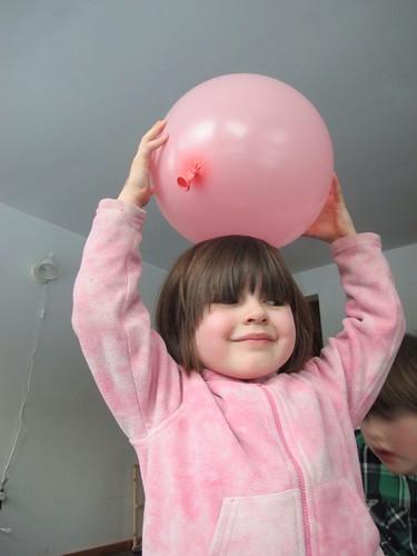 Oona balloons by Andrea Pokrzywinski