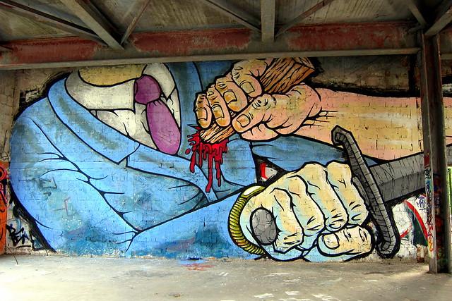 graffiti | alaniz | teufelsberg . berlin