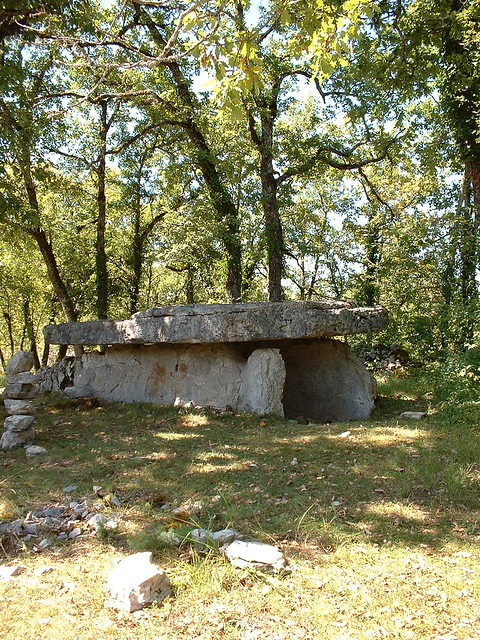 Assier : Dolmen Table Roux
