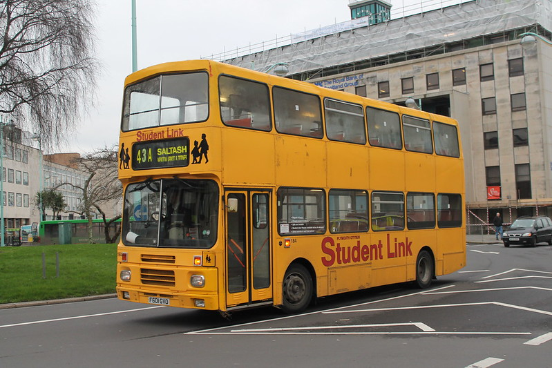 Plymouth Citybus 184