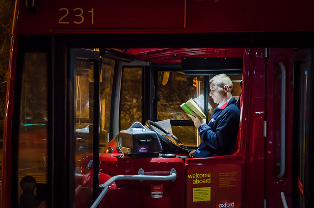 A typical Oxford bus driver