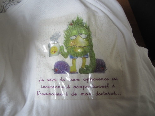 T-shirt fin de thèse