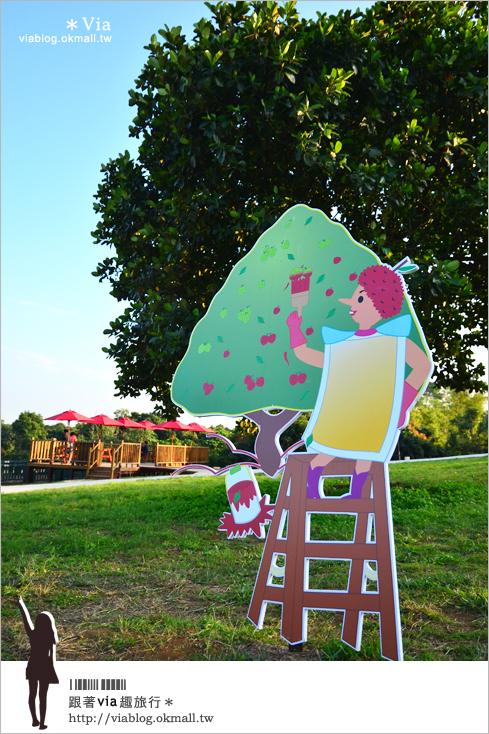 【就是愛荔枝樂園】彰化芬園的新玩點~來這裡逛花園、拍婚紗、玩休閒設施!