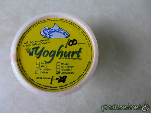 Yoghurt at Philippine Carabao Center, UP Los Baños (UPLB), Laguna