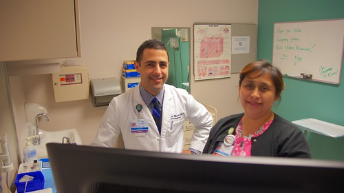 Collaborating and engaging in the post-EHR era - A visit to the @dermdoc