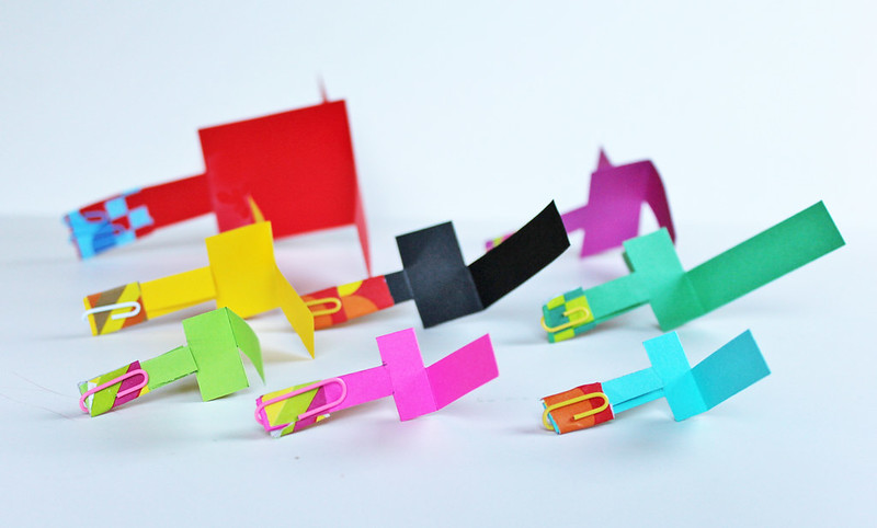 Learn how to make paper helicopters with this step-by-step tutorial