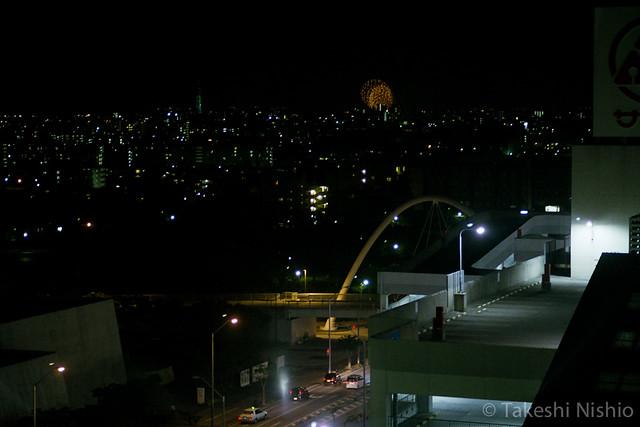 新年を祝う花火 / Fireworks,