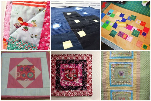 Project QUILTING, Square in a Square Challenge, A Closer Look Part 7