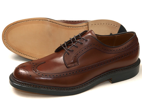 Alden / 97641 Long Wing Brown Oxford