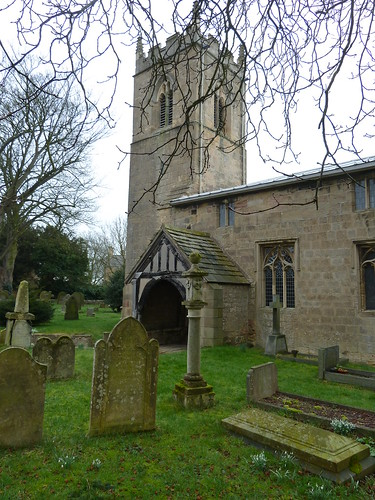 Thorpe Salvin church, South Yorkshire.