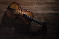 [Free Images] Objects, Musical Instruments, Violin, Music ID:201301250000