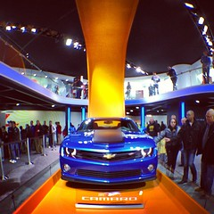 OK, so #chevy wins for best exhibit/display at #naias2013 but Ford has friendliest and most knowledgeable staff. #olloclip #iphone5 #cars #detroit #motown