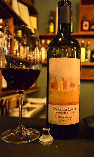Chatter Creek Nebbiolo
