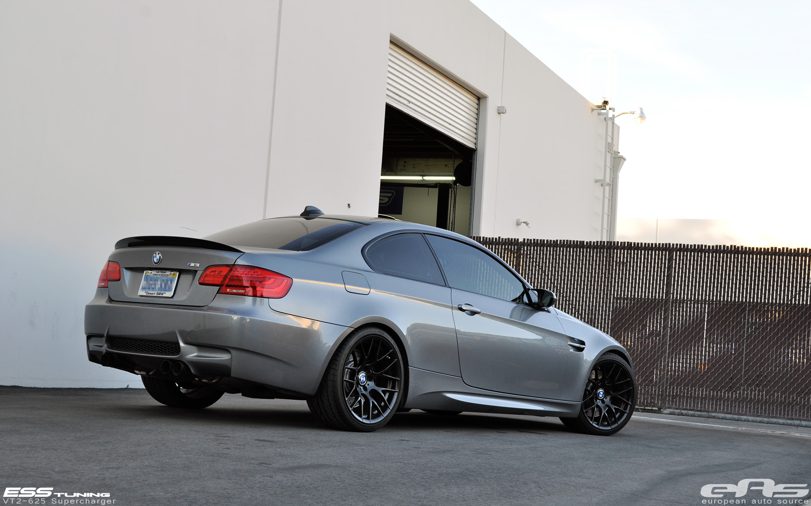 Space Gray BMW E92 M3 Black GTS Wheels by eas