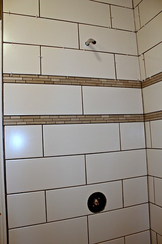 tiled shower 9