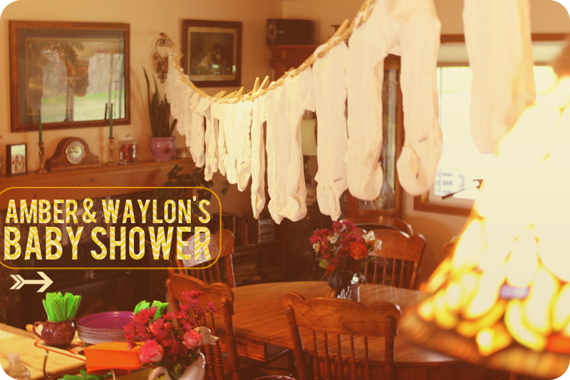 {baby shower} for amber & waylon