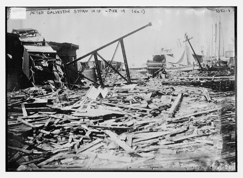 After Galveston Storm, 1915 -- Pier 19 (No. 1)  (LOC)