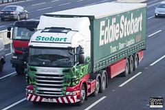 Scania R440 6x2 Tractor - PJ10 SHX - Alison Eileen - Green & Red - Eddie Stobart - M1 J10 Luton - Steven Gray - IMG_0994