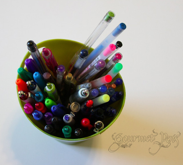 Shades of Tuesday - Pen Cup