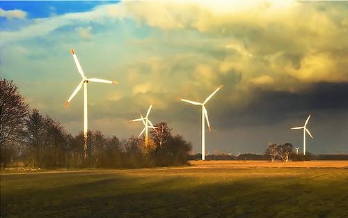 Ветрогенераторы на своих заводах устанавливает Honda