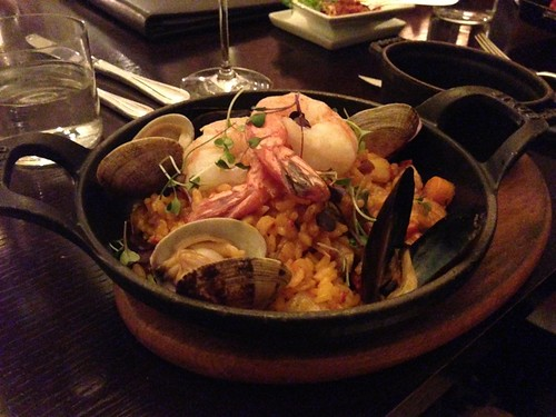 Argyle Steakhouse Park Hyatt Aviara seafood paella