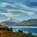 The Road to Mount Cook along Lake Pukaki by Stuck in Customs