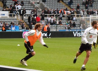 COLO AND CABAYE WARMING UP