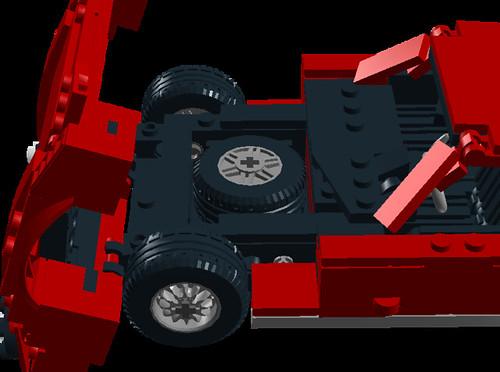 Lamborghini Miura P400SV spare tire