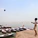 Kite. Varanasi, India by Marji Lang Photography