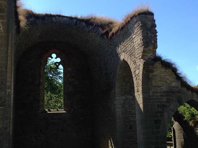 Omberg: Klosterruine Alvastra