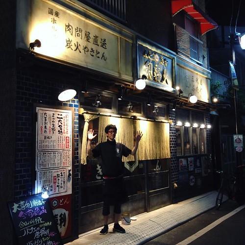 本日いろいろありまして、坂本さんには大変お世話になりました。 #大喜利 #新丸子