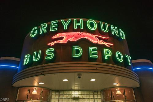 Art Deco greyhound station, Huntington, West Virginia