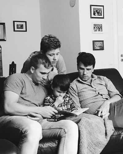 How many boys does it take to translate a child's book from German into English? Four, apparently. #children #reading #family #germany #travel