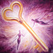 The key of love oil on canvas painting - Cheia iubirii pictura ulei pe panza