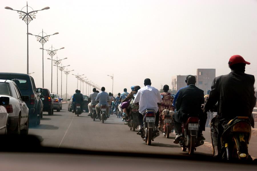 8 Traffic jam