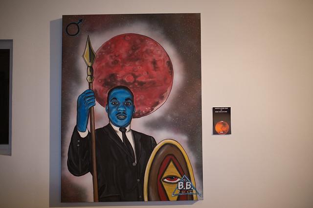 M.L.K. Jr. as Mars god of War