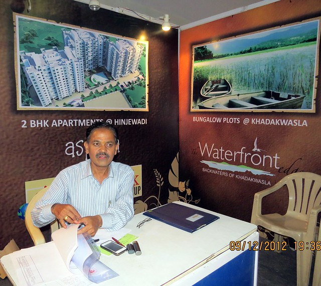 Pune Property Exhibition - Sakal Vastu - Property Expo - December 2012 - 20