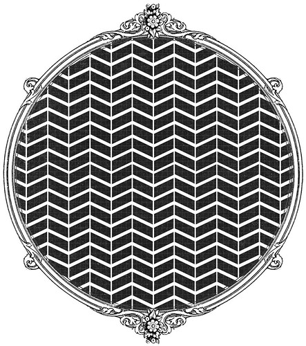 9 chalkboard Tiny paper pieced CHEVRON solid -  free printable paper SAMPLE