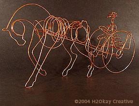 Wire Inspire Horse