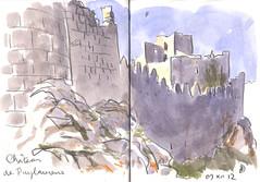 121209 Château de Puilaurens - Photo of Counozouls