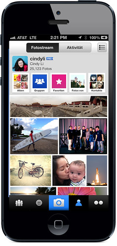 Die neue Flickr iPhone App
