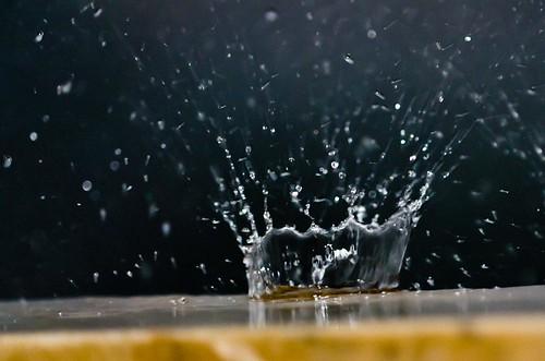 Splash of water
