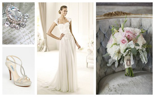 {Romantic} Bridal Style by Nina Renee Designs