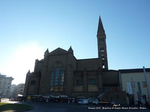 Basilica di Santa Maria Novella - Dietro
